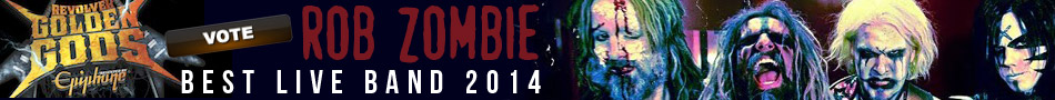 Vote Rob Zombie best live band