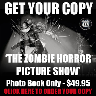 Pre Order The Zombie Horror Picture Show with Rob Fenn Photos