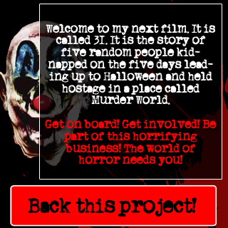 rob zombie movie 31 crowd funding