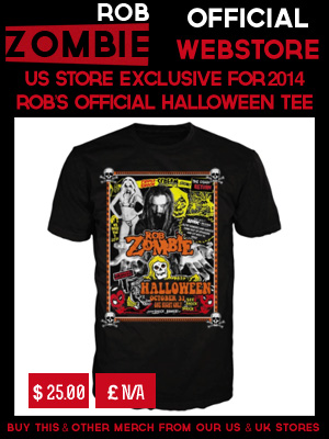 ROB ZOMBIE HALLOWEEN 2014 - T-SHIRT