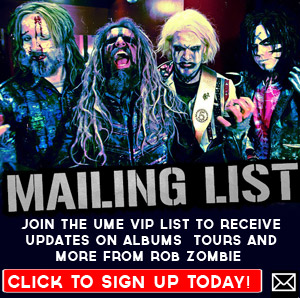 Rob Zombie mailing list