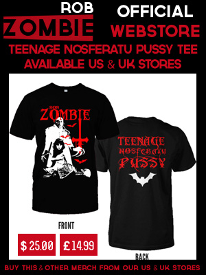 ROB ZOMBIE TEENAGE NOSFERATU PUSSY SHIRT