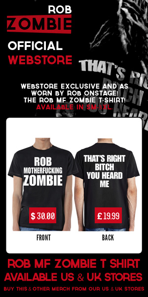ROB MOTHERFUCKING ZOMBIE SHIRT