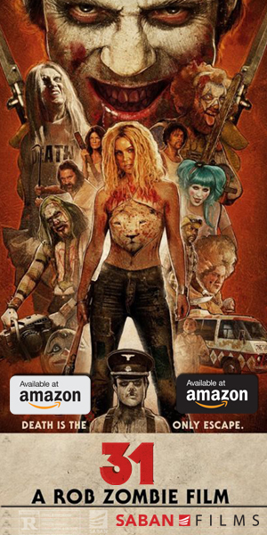 Purchase Rob Zombie's film 31 at Amazon