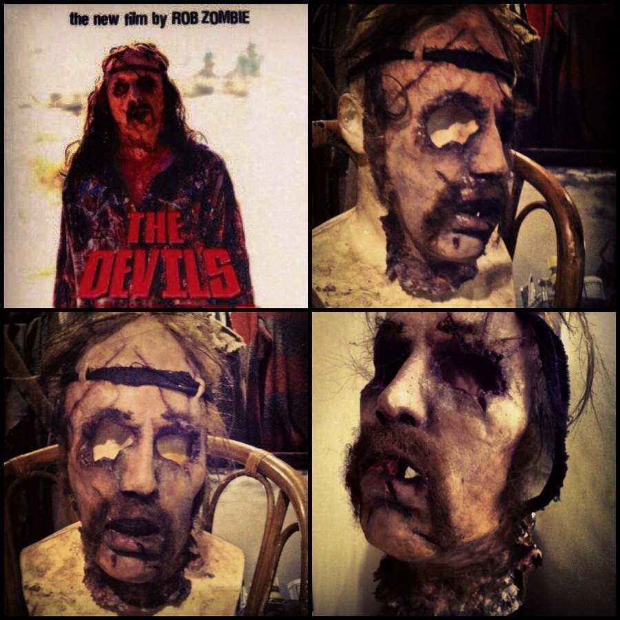 The Devils rejects skinned face mask!