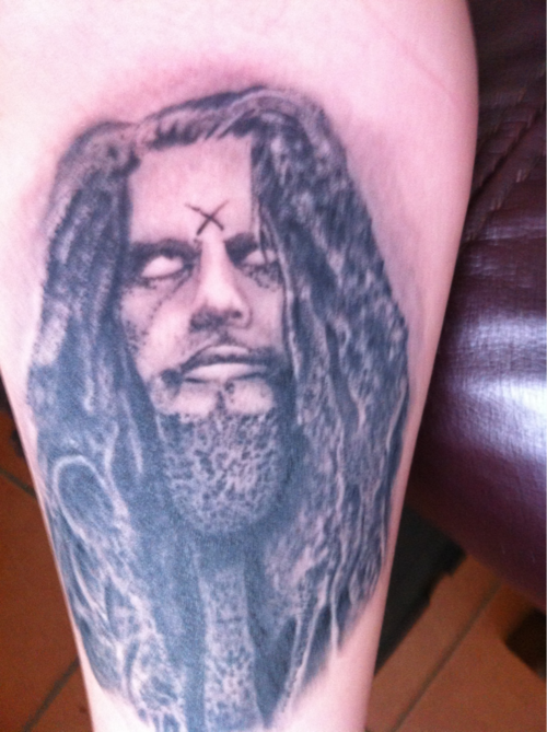 Rob Zombie portrait :)