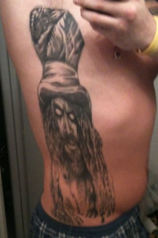 Full side piece Rob Zombie Portrait