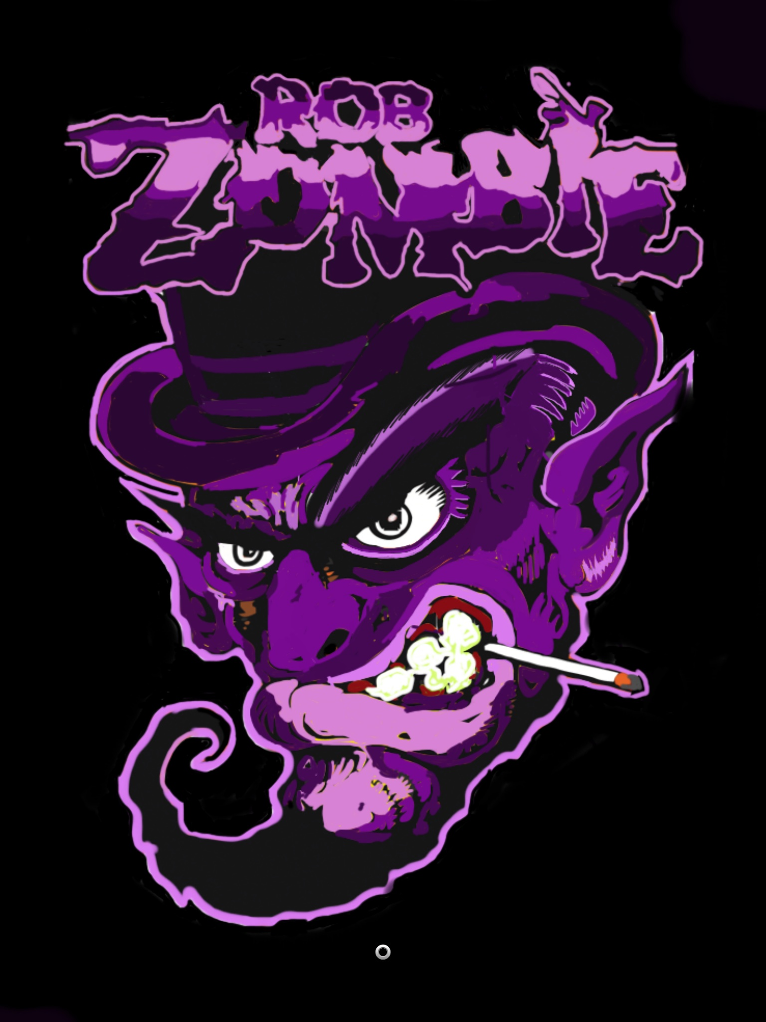 Purple Zombie Reload/White Zombie Red Reload