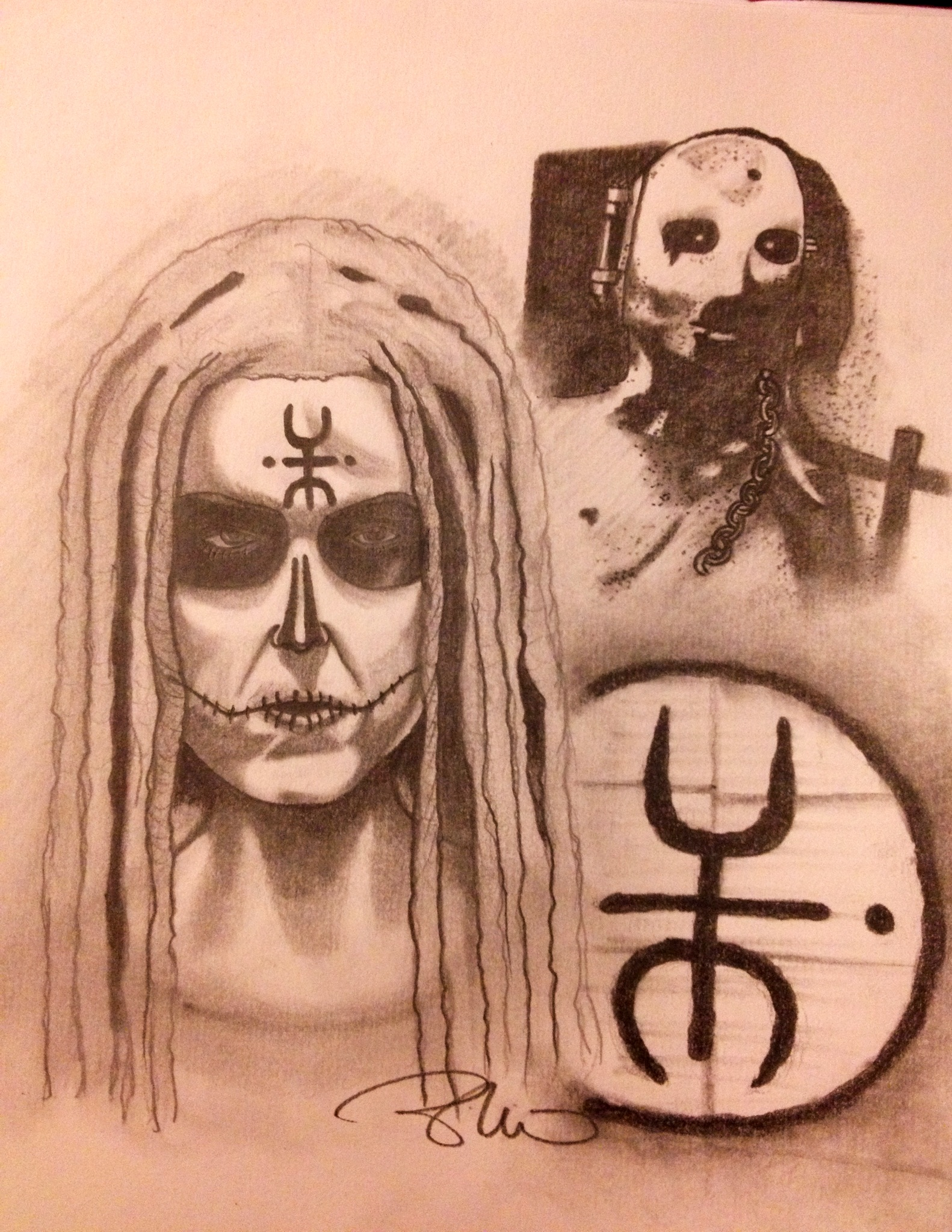 Lords of Salem Sketch