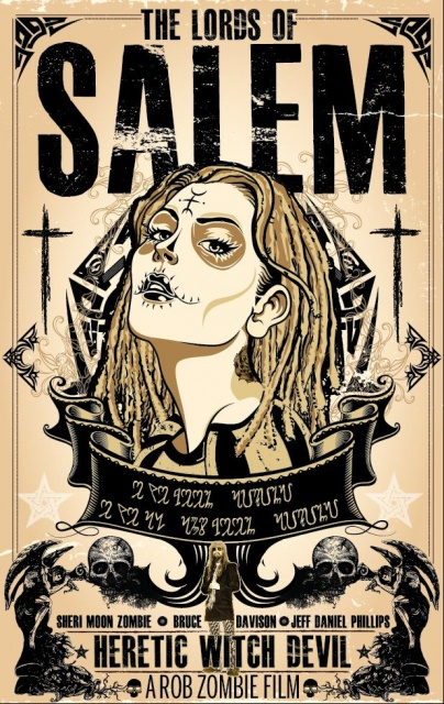 lords of salem poster by ryan huddle