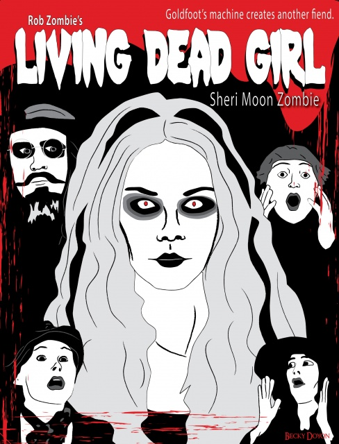 Living Dead Girl Movie Poster
