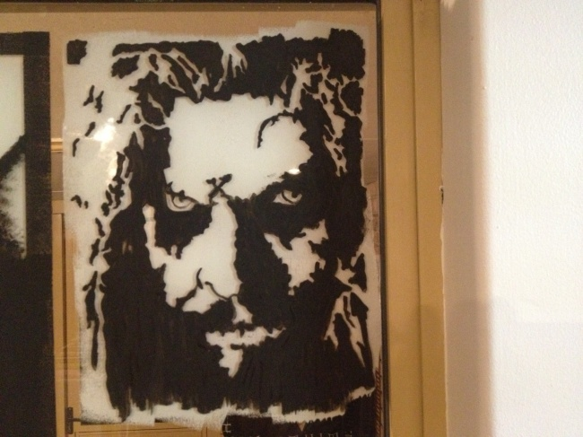 Rob Zombie Window Art