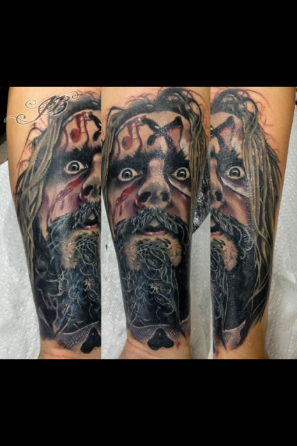 RZ Tattoo by John Barrett @yogibarrett on instagram