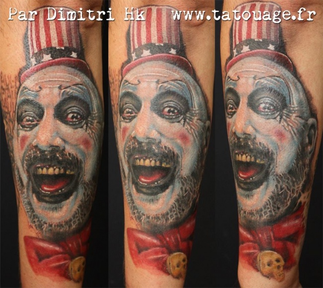 Captain Spaulding by Dimitri HK
