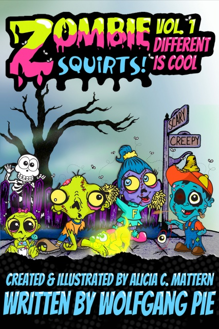 Zombie Squirts! Vol. 1 - Different Is Cool