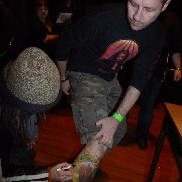 Zombie tatts signed by Rob Zombie HIMSELF