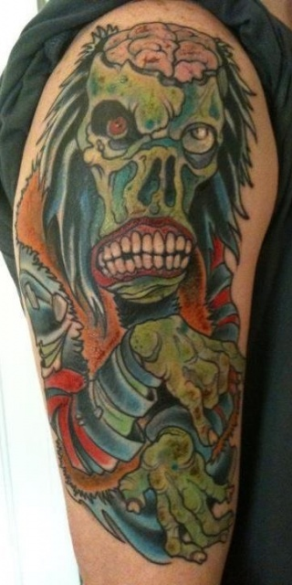 One of my tattoos. From a rob zombie T-Shirt I own