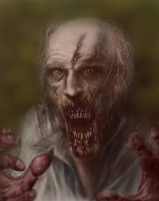 JUST ANOTHER ZOMBIE    by   CARLOS VILLAS    http://villas7.deviantart.com