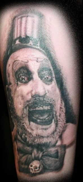 captain spaulding done by Dero Ored at +48 in Edinburgh