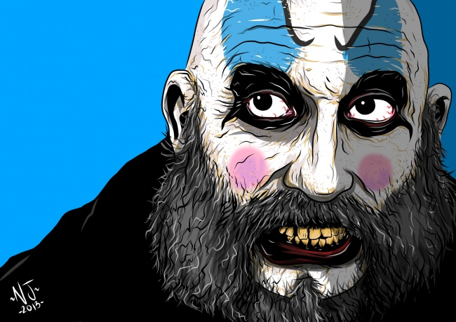 Captain Spaulding  by Nathan Jackson