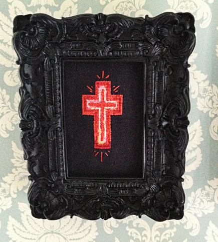 The Lords of Salem Cross Stitch