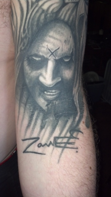 my portrait and signature by the man himself! \m/!