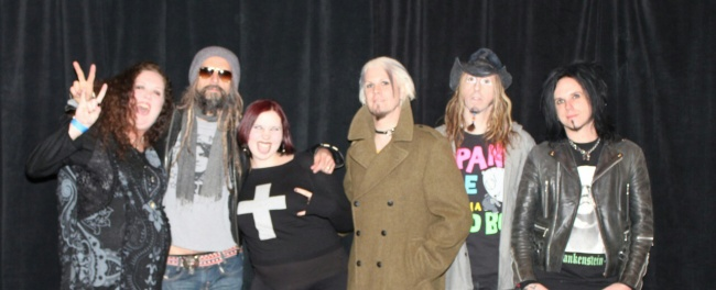 Meeting Rob Zombie!!!!