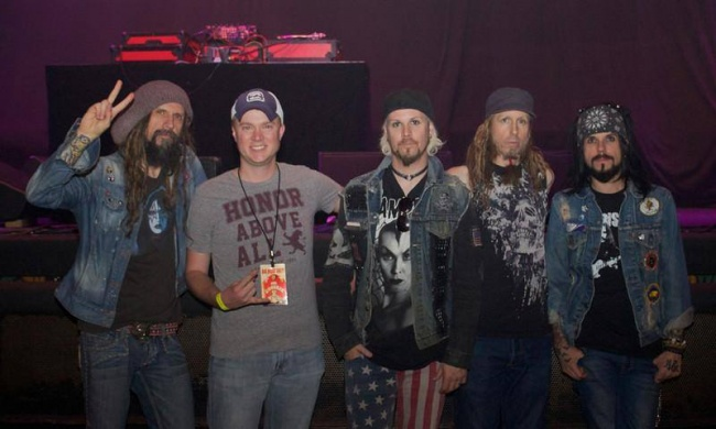 Chris. O. with Rob Zombie!