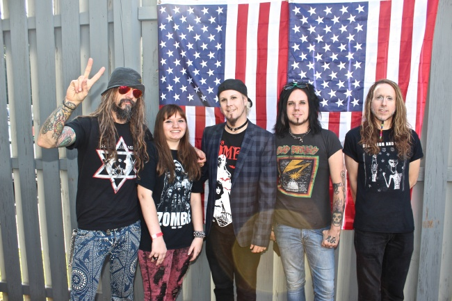 RZ, me, John 5, Piggy D, and Ginger Fish