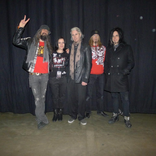 With the band  at Luxembourg