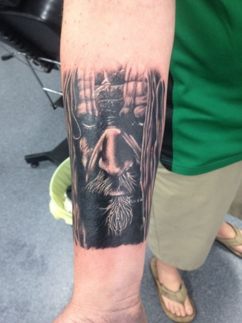Rob Zombie - Antz Collective Ink Brisbane