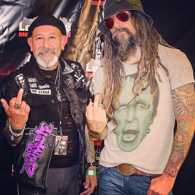 With Mr. Rob Motherfucking Zombie at Loudwire!!!! As usual Mr. Zombie you FUCKING ARE THE MAN!!!!!