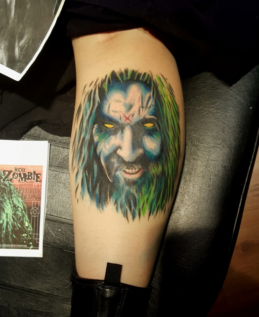 Rob Zombie portrait I did recently