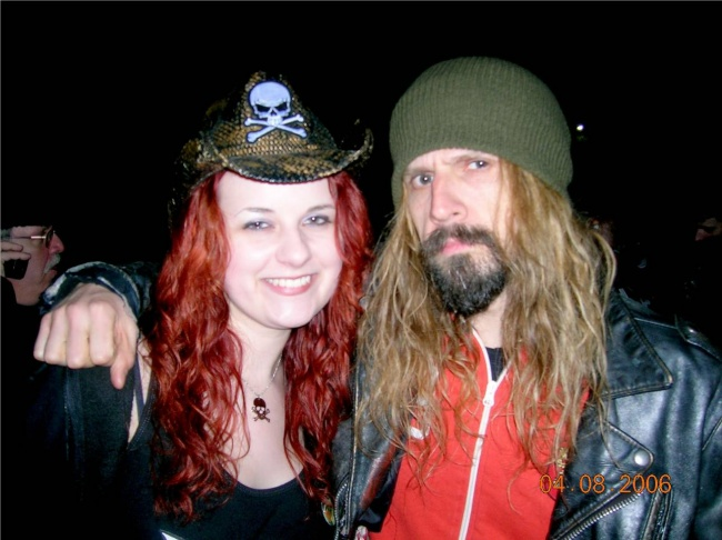 Living Dead Girl Nicole and Rob Zombie