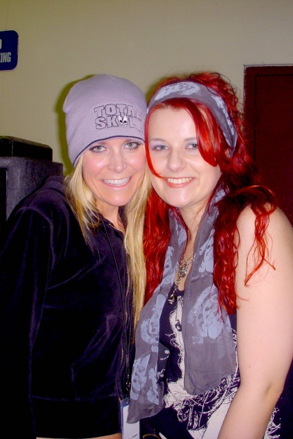 Living Dead Girl Nicole and Sheri Moon Zombie for Total Skull