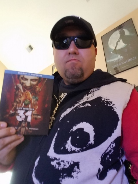 My copy of 31 and my TOTAL SKULL swag.