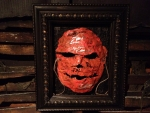 Michael Myers mask with signatures