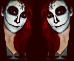 THE LORD OF SALEM HALLOWEEN MAKEUP \m/