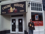 At Engine House Pizza