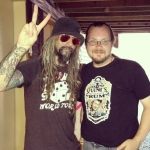 Anders Eriksen and Rob Zombie
