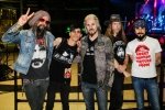 With the band in Madrid Meet & Greet