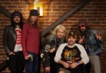 Me with Rob Zombie and Band