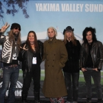 Me (Danielle) and Rob Zombie and band