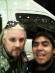 Jhon 5 and my self in Mexico