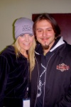 Frank and Sheri Moon Zombie for Total Skull