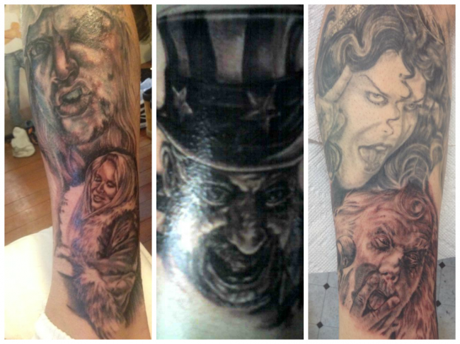 My House Of 1000 Corpses sleeve so far