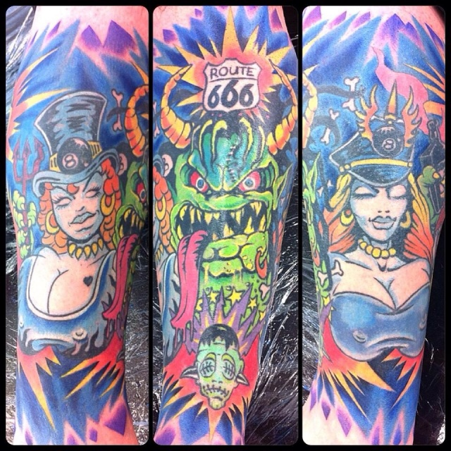 White Zombie Tattoo