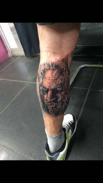 Ross Campbell new zombie tattoo
