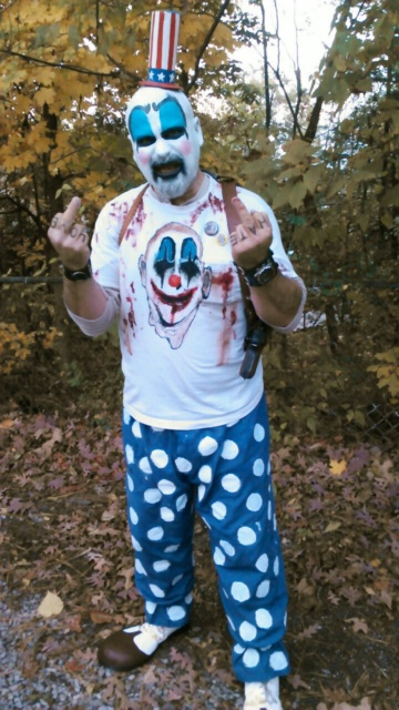 Cutter aka Captain Spaulding representing his new brothers from 31
