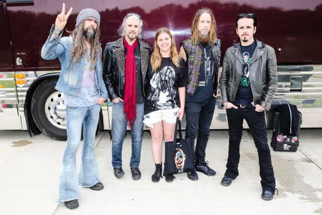 Got to meet Rob Zombie for the first time last summer!